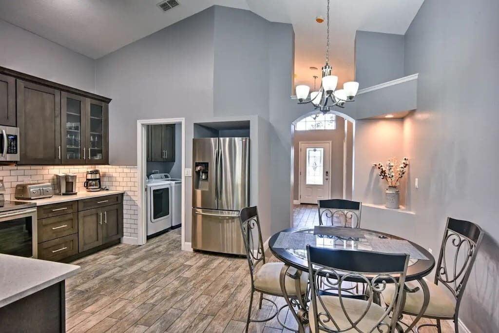 Semi Modern Luxury Kitchen