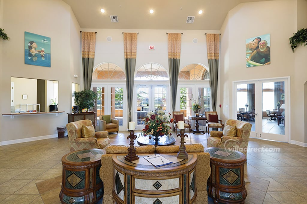 Clubhouse lounge