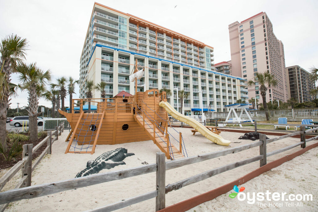 Play in a Pirate Ship in the Sand
