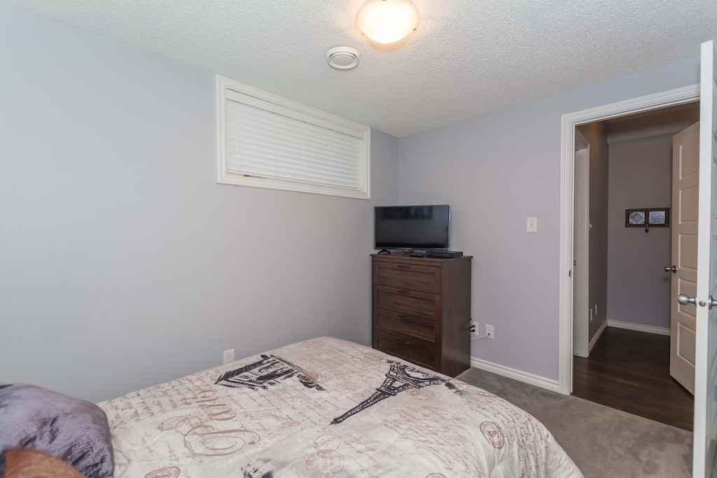 Bedroom includes a TV