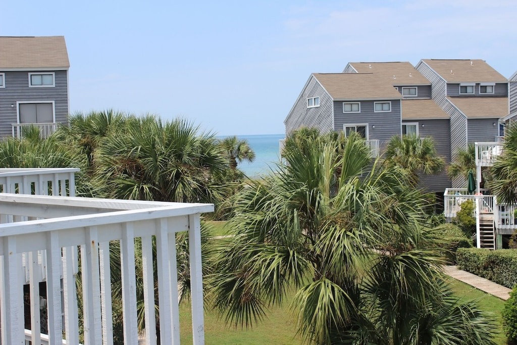 Gulf view from Master Bedroom Deck!  Enjoy stunning sunsets!!!