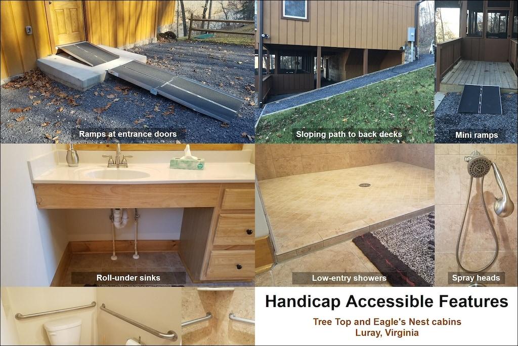 Handicap Accessible Features