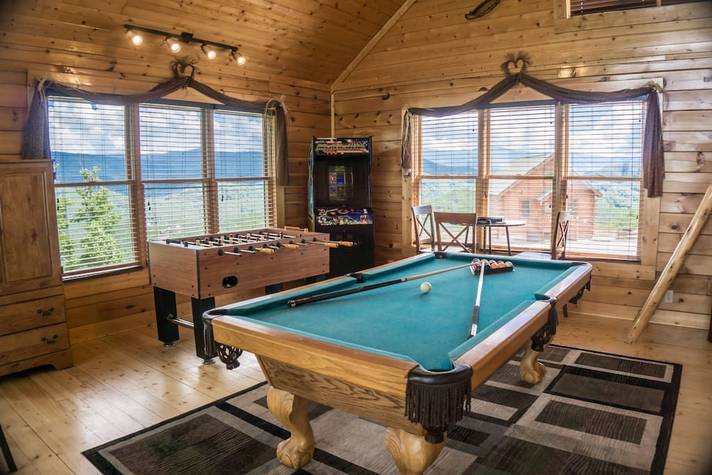 Pool and foos ball tables