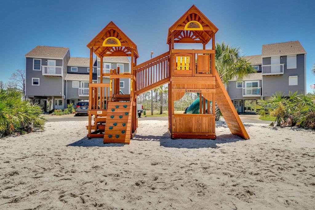 Playground in Barrier Dunes