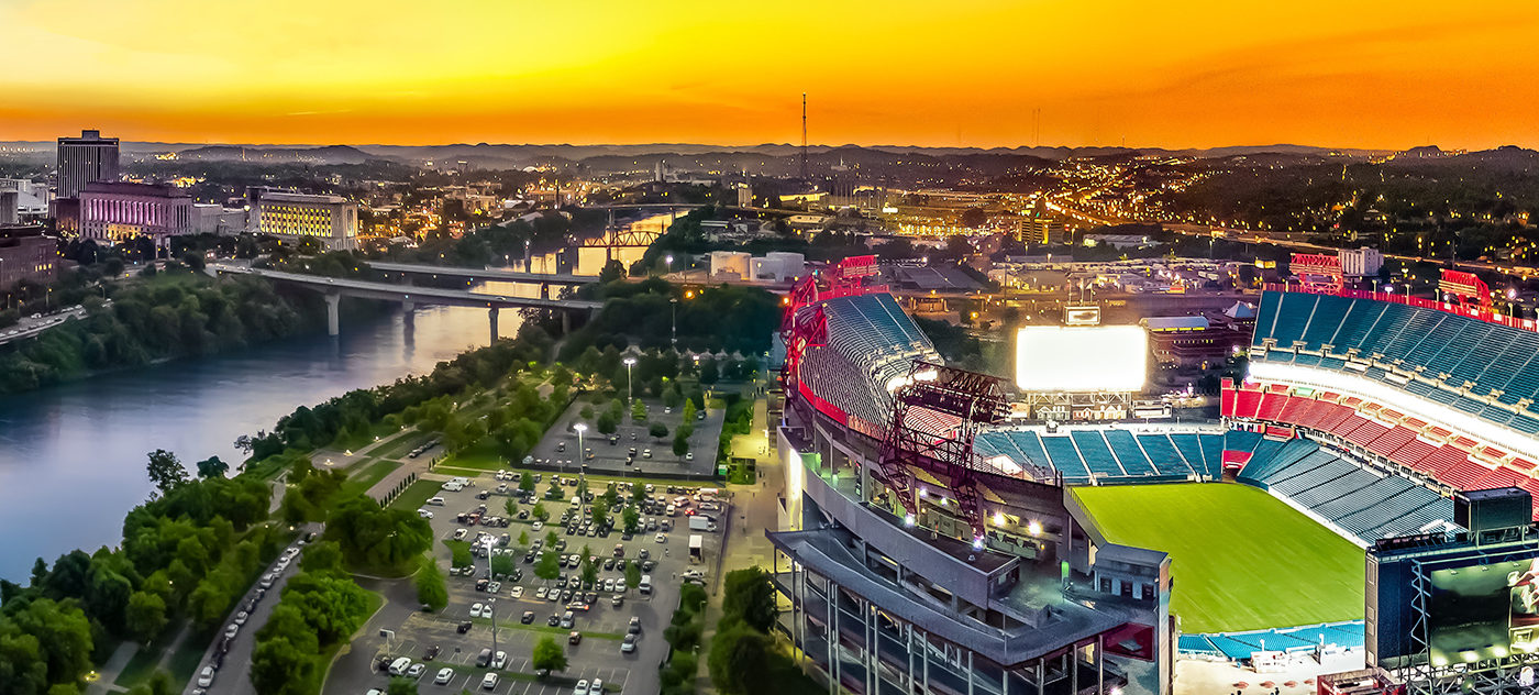 We are one of the closest accomodations to Nissan Stadium.  Just a 10-15 minute walk from world-class concerts and sporting events