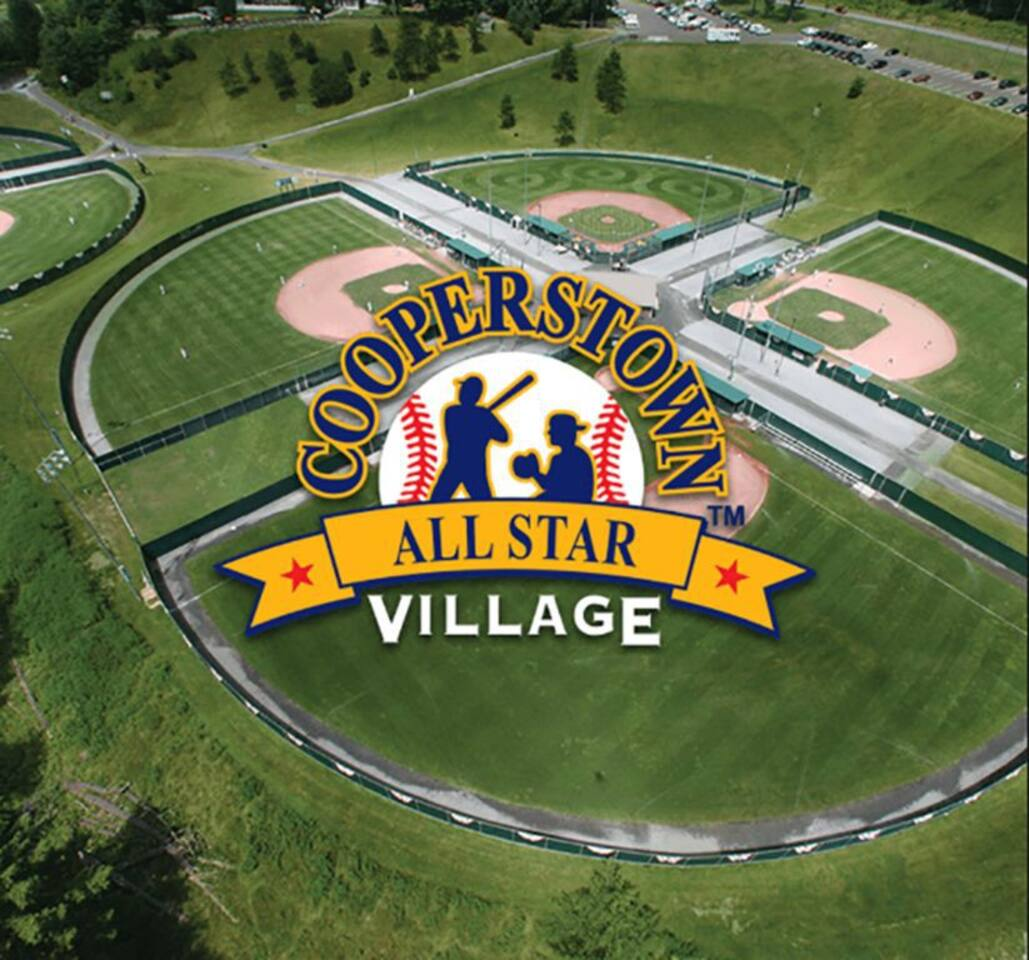 13 miles to Cooperstown All-Star Village