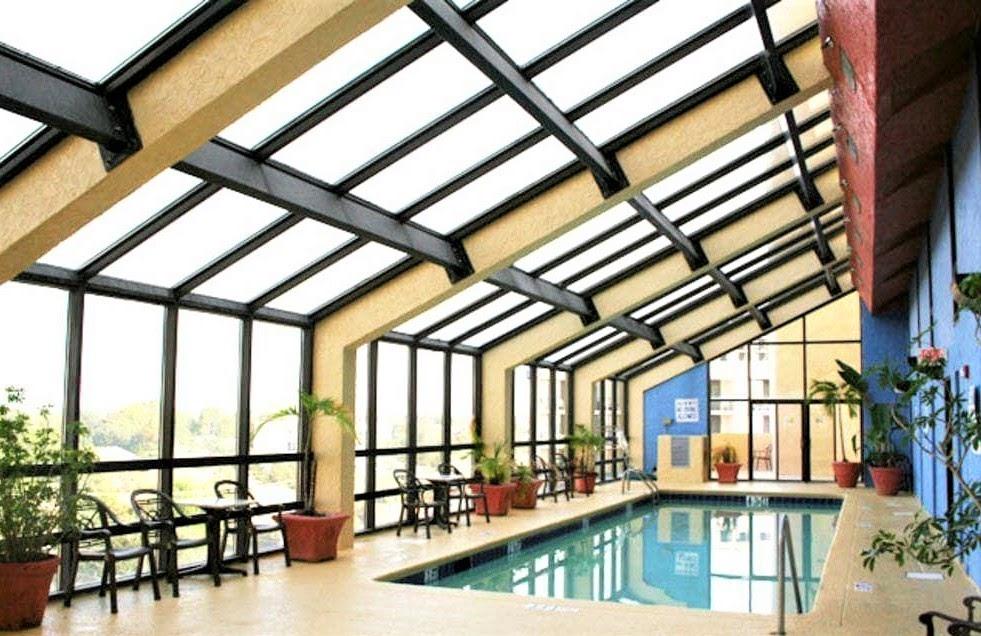 Indoor Pool in Resort Building Next Door