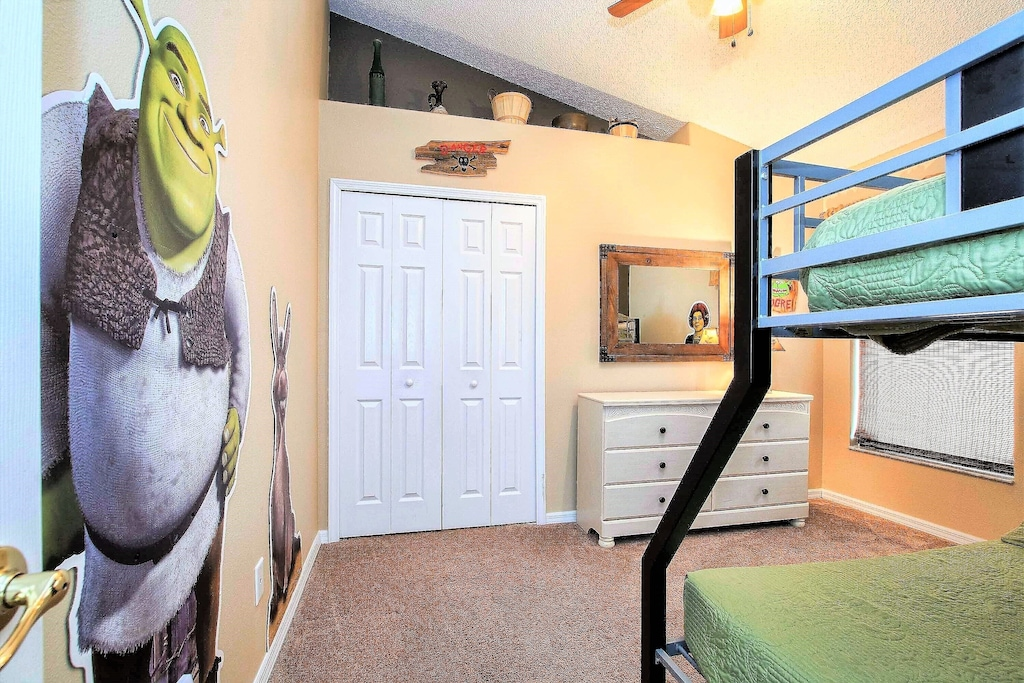 The Shrek kids room.