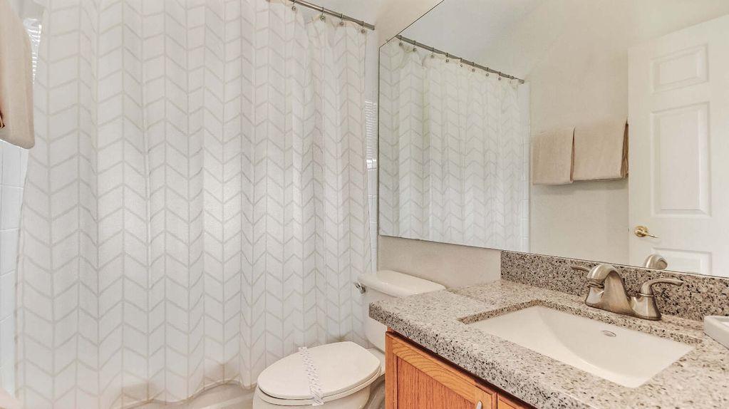 Bedroom 2 and 3 Shared Bathroom