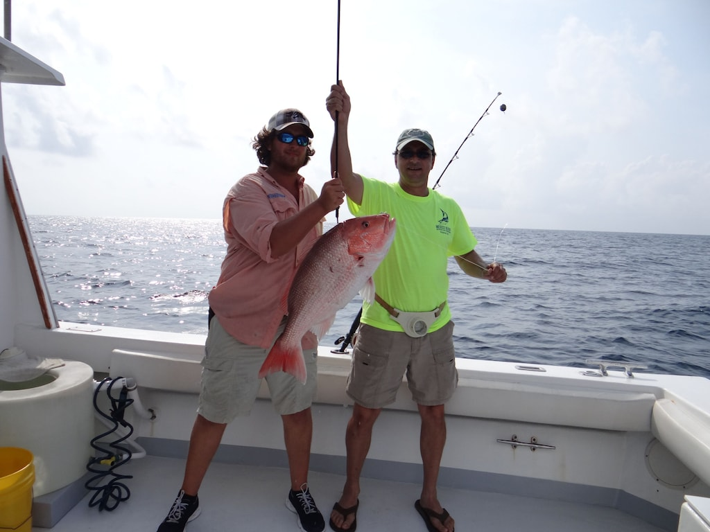 Mexico Beach is a fishing town and we love to catch snapper! Ask us about the best fishing charters in Mexico Beach!