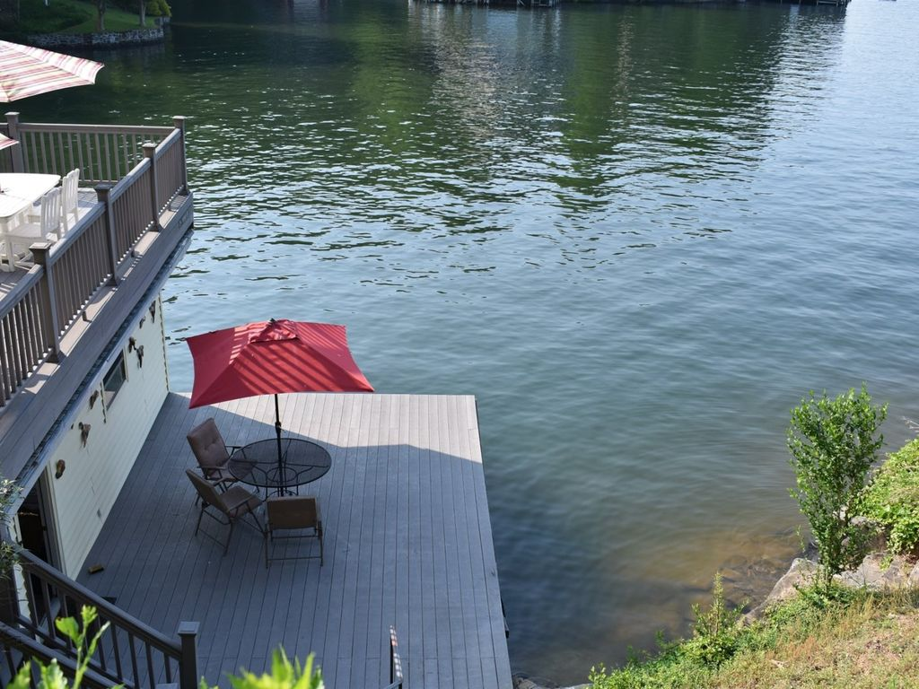Beautiful views of Lake Lure from the dock