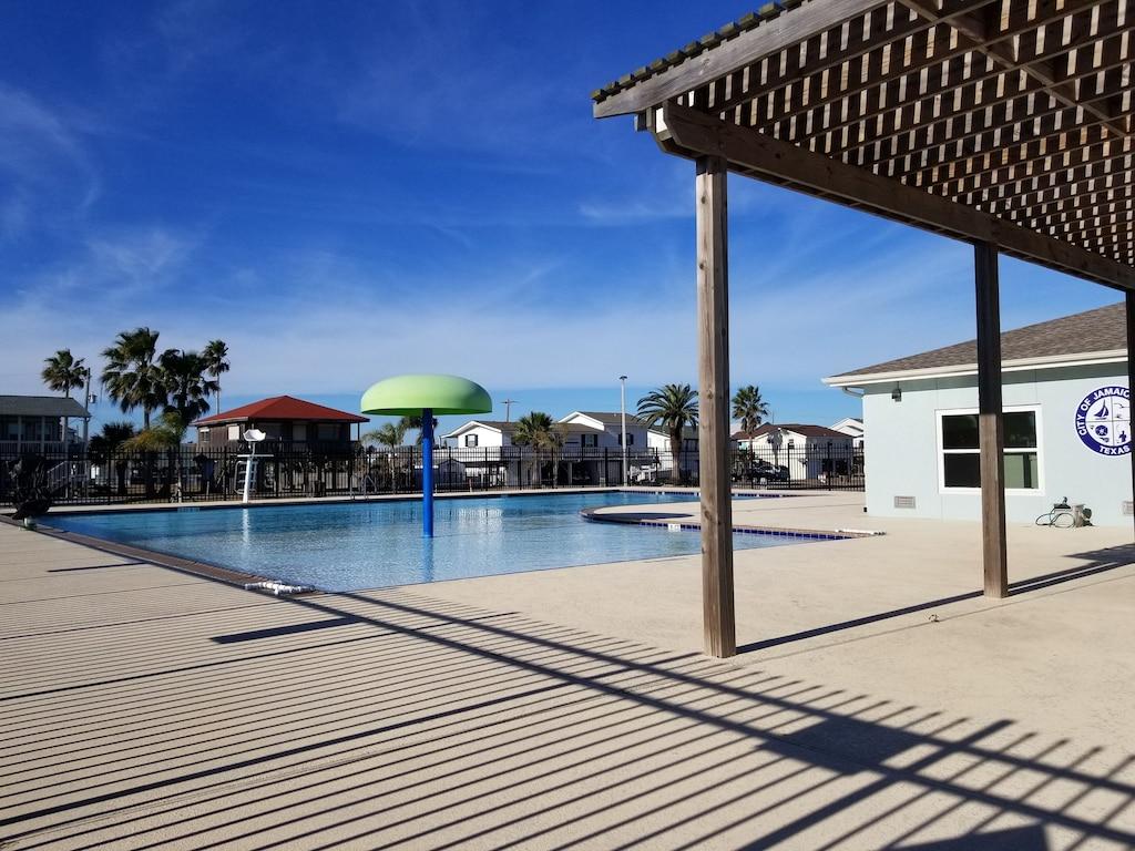 Neighborhood swimming pool