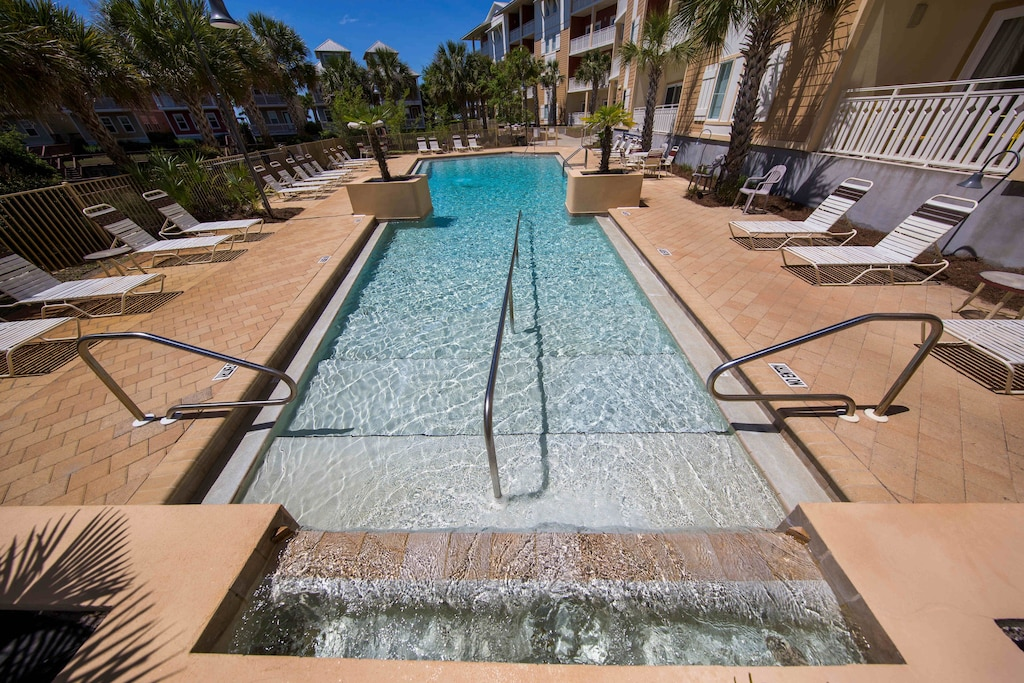 Comfortable lounging by the pool!