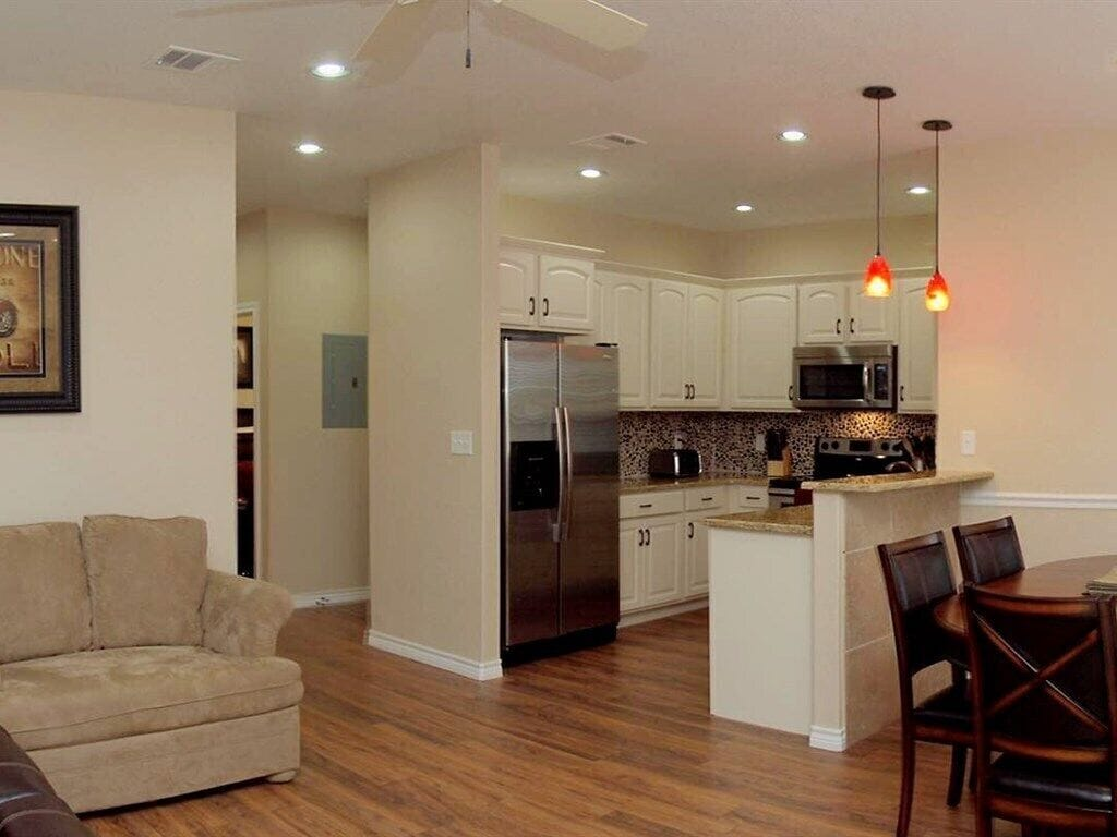 HH #A - Kitchen, Dining, Living Area