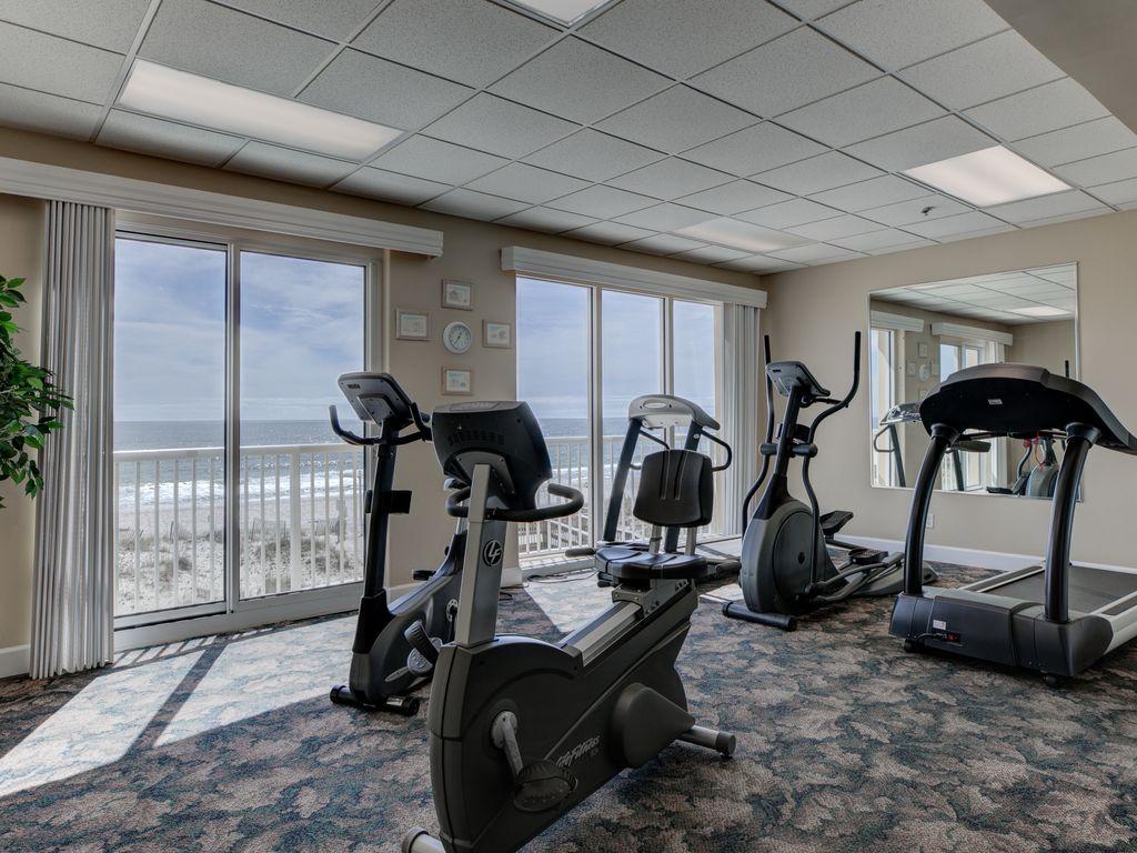 Fitness room on 3rd floor