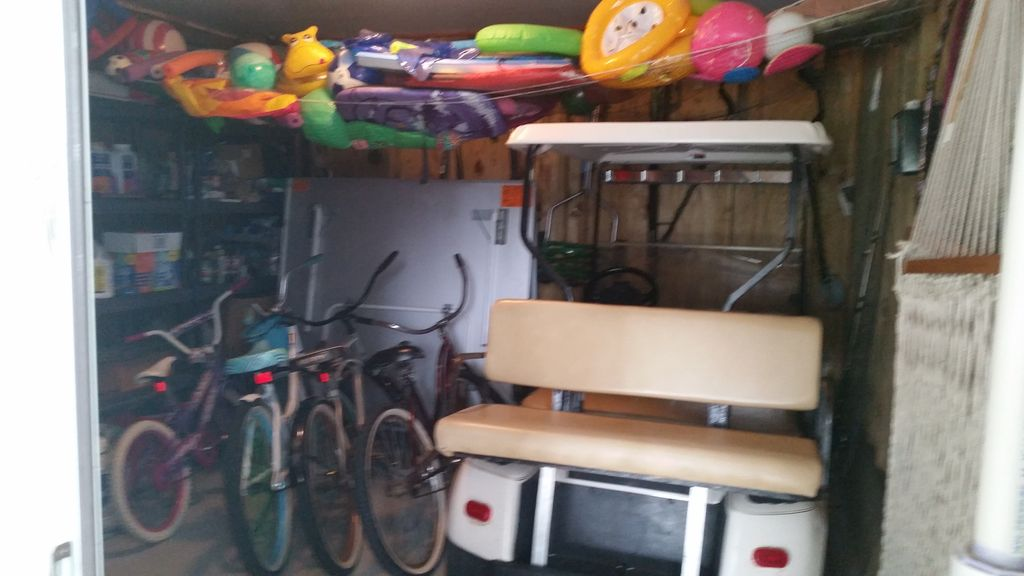 Golf Cart and Bikes, Pool Toys, Beach Chairs