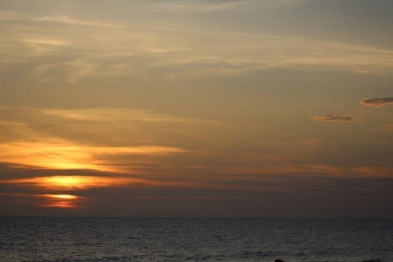Spectacular sunset at Barrier Dunes!!