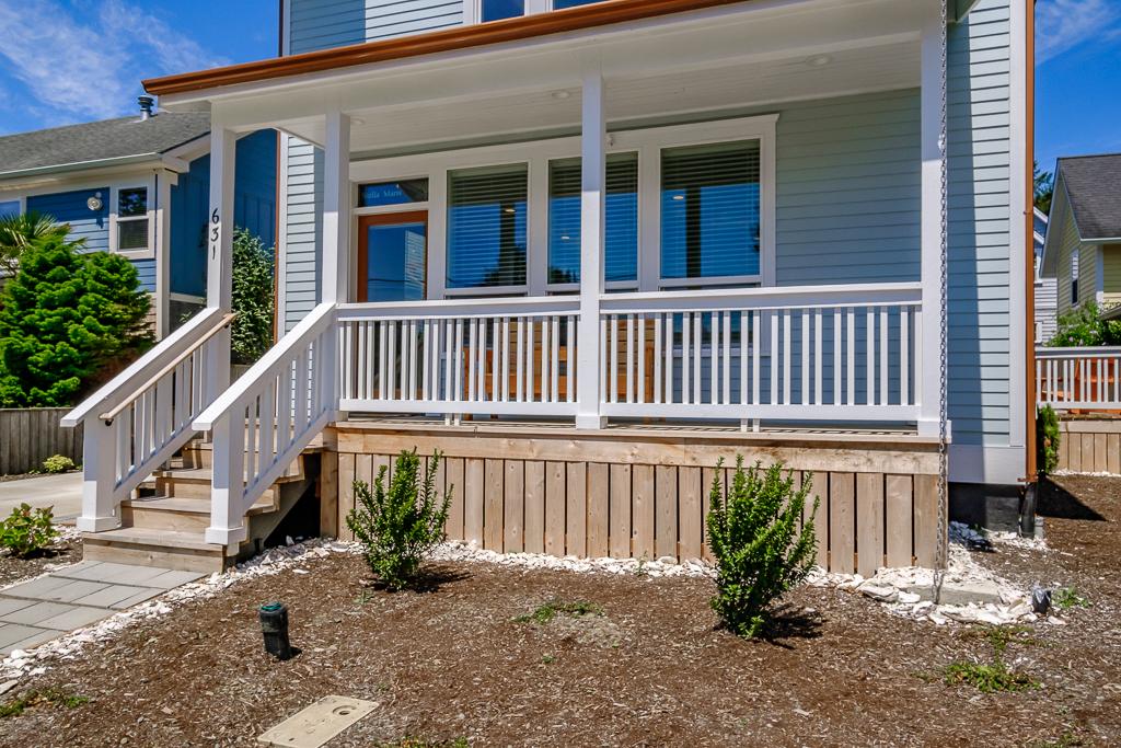 Coastal living in a brand new custom home.