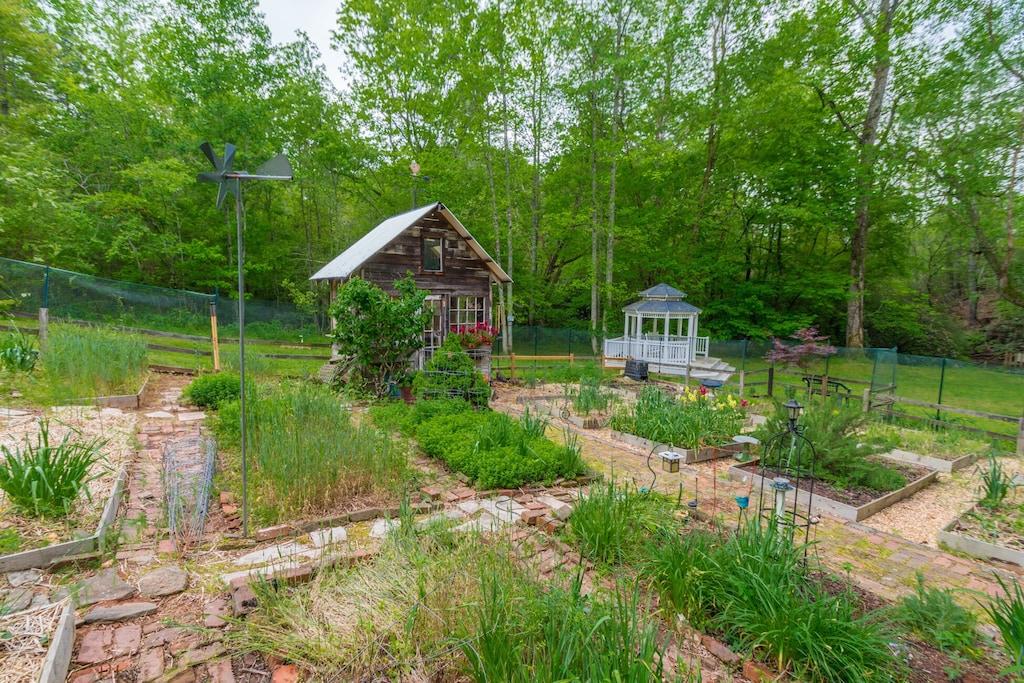 Blue Creek and Garden