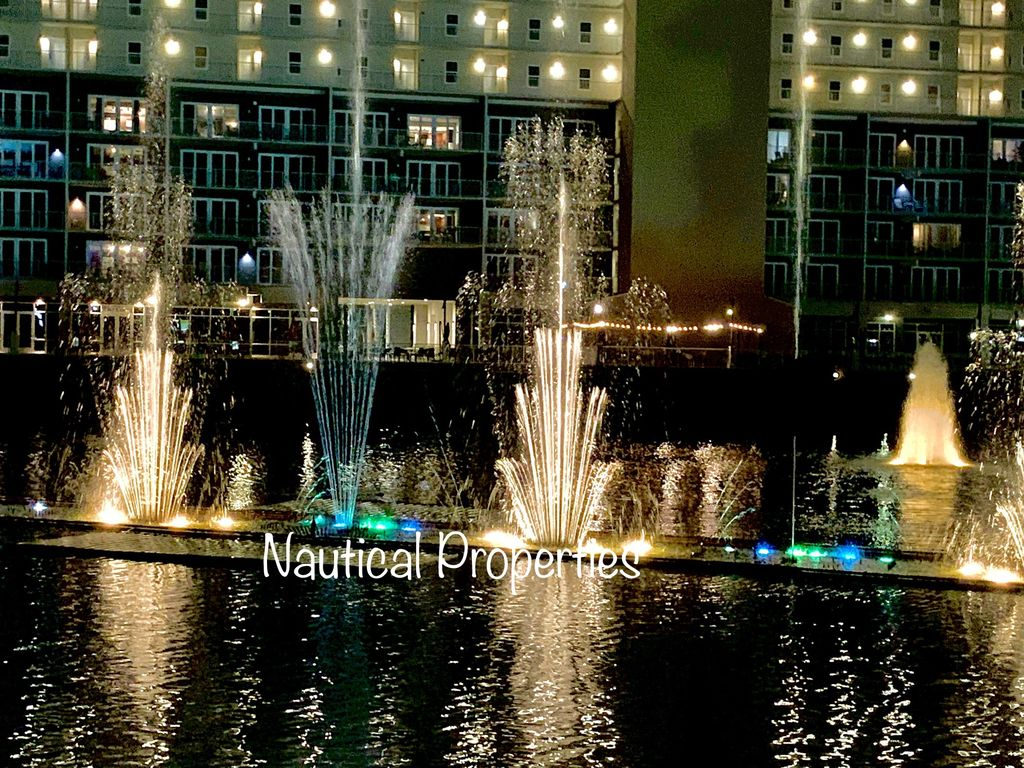Nightly water show