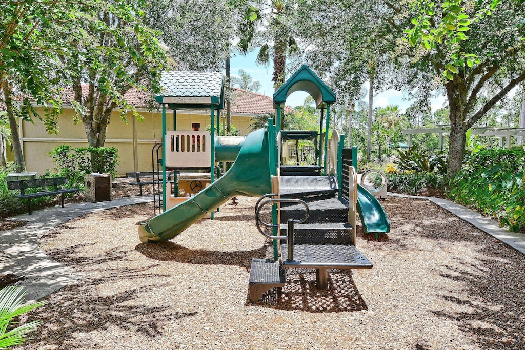 One of the three playgrounds in Emerald Island.