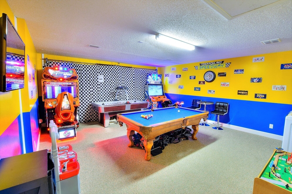 Checkout this climate controlled game room!!!