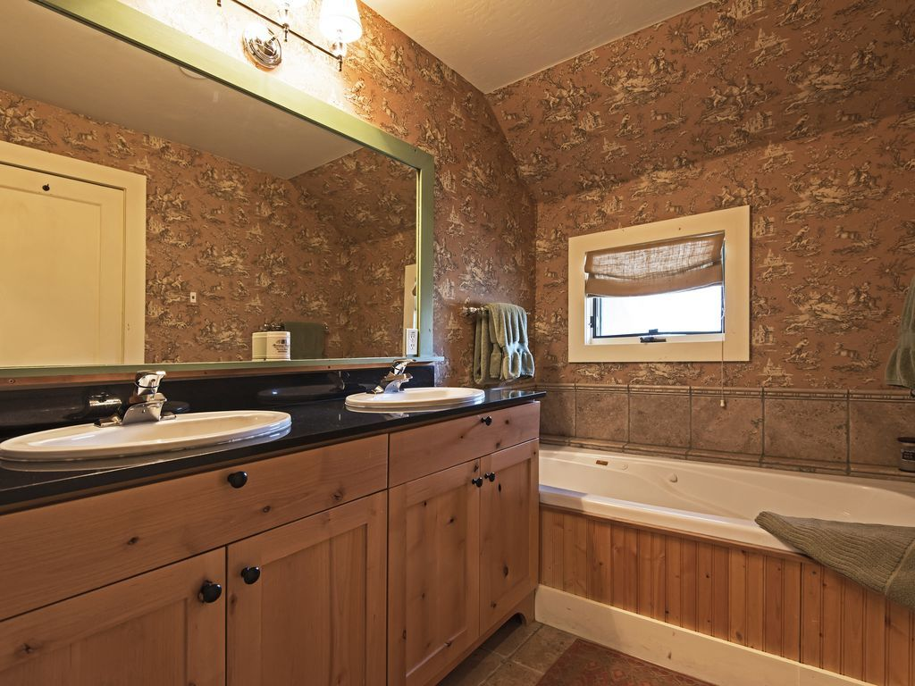 master bath.  (shower and toilet not shown)