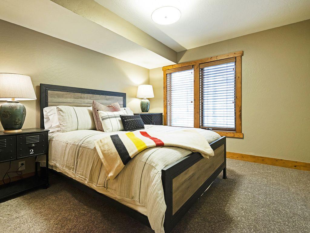 Bedroom two - queen size bed
