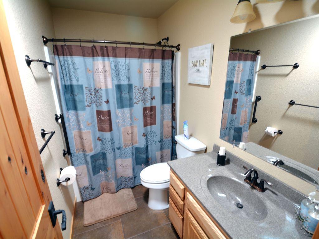 Upstairs bath.
