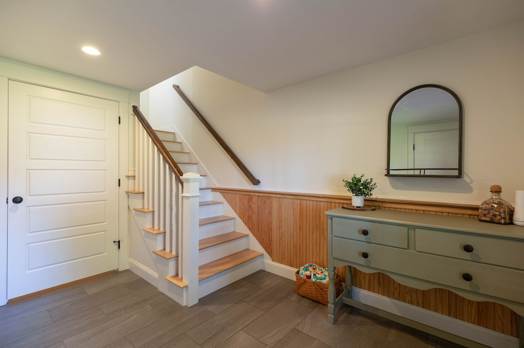 Downstairs entryway