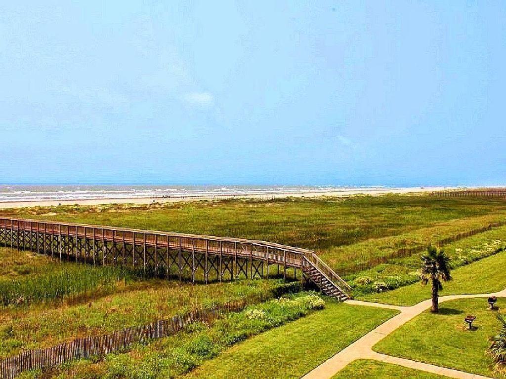 Walking Bridge To Beach
