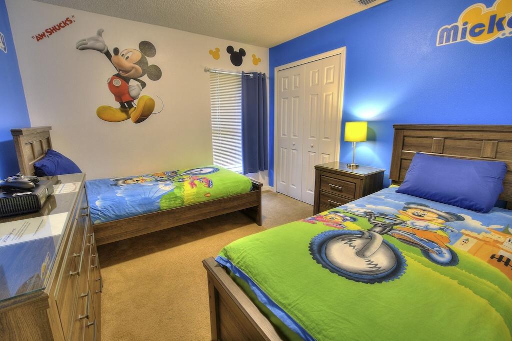 The Mickey room!