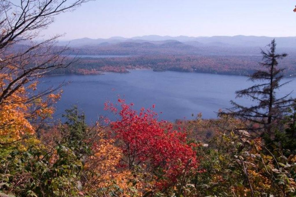 Local Hike - view of Lake Piseco