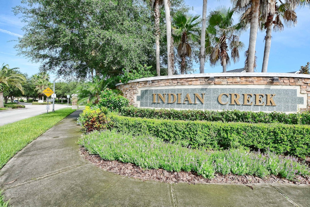 Indian creek is upscale and quiet.