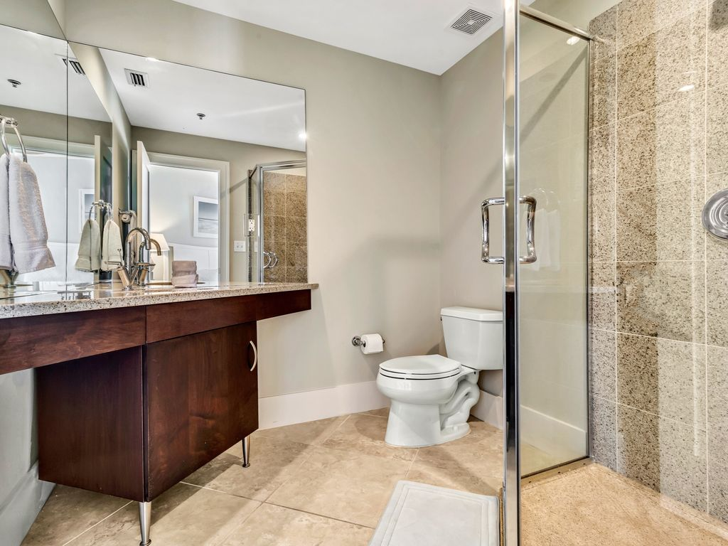 Guest Room Bath with Walk-in Shower