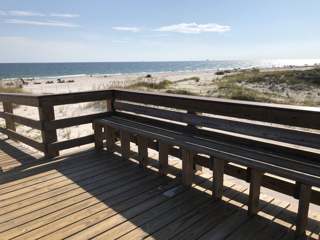 View from the board walk
