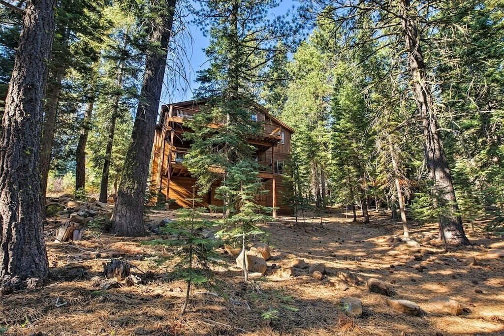 Nestled in a Large Wooded Lot