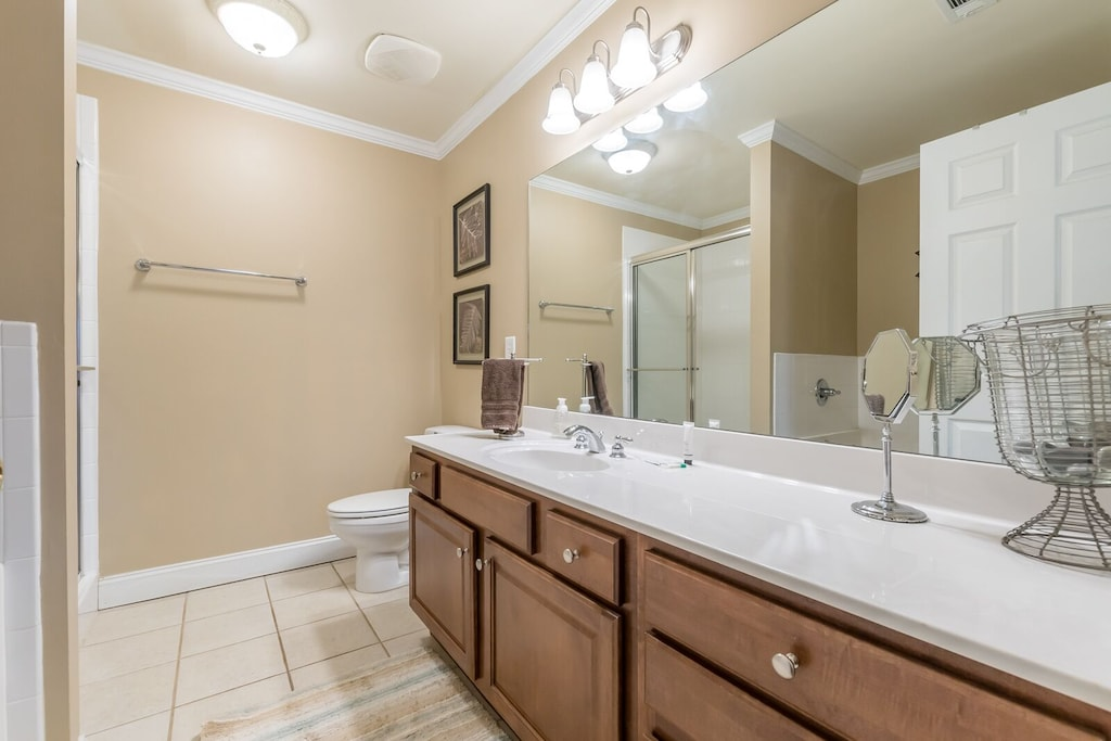 Master bathroom with large sink