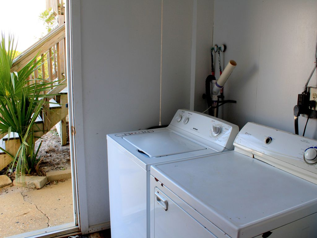 Laundry room convenient for everyone!