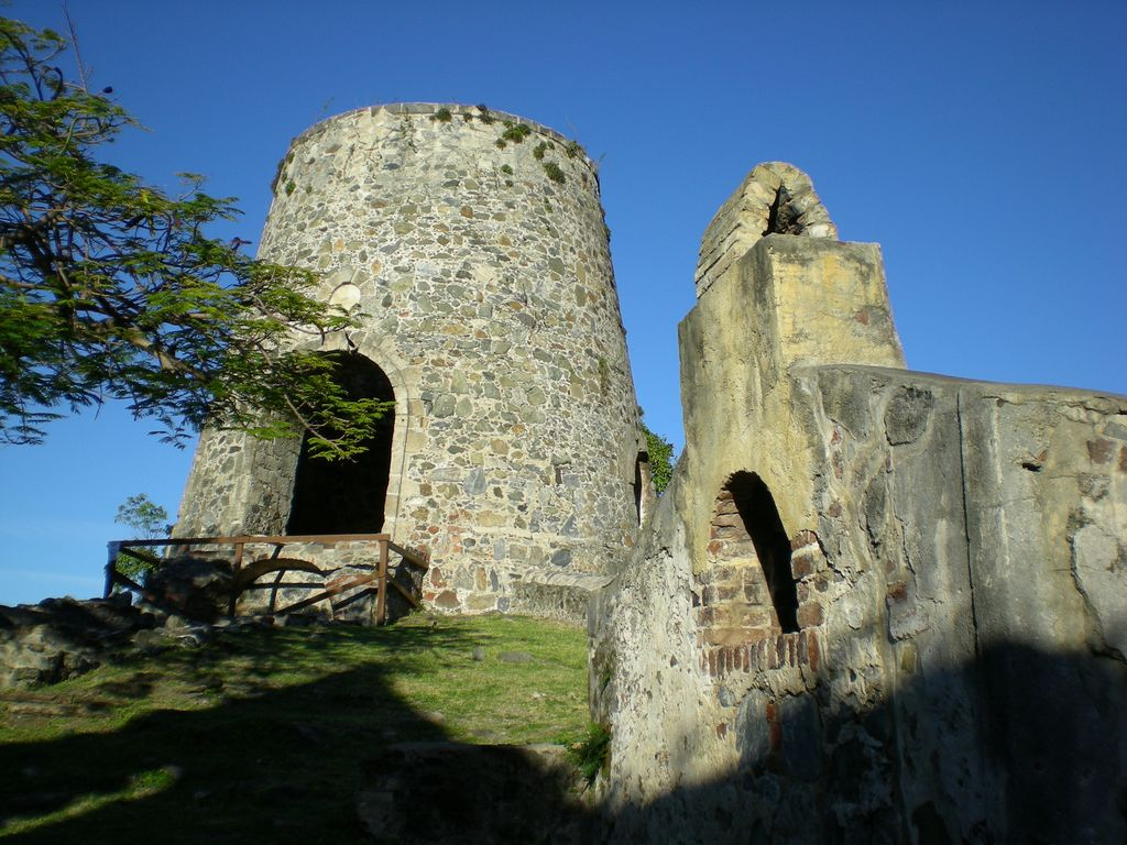 Ruins of sugar plantation on St. John