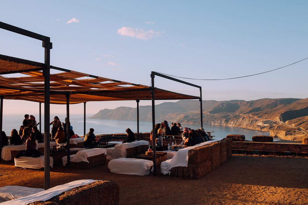 Wine and dine overlooking the ocean at Cuatro Cuatros