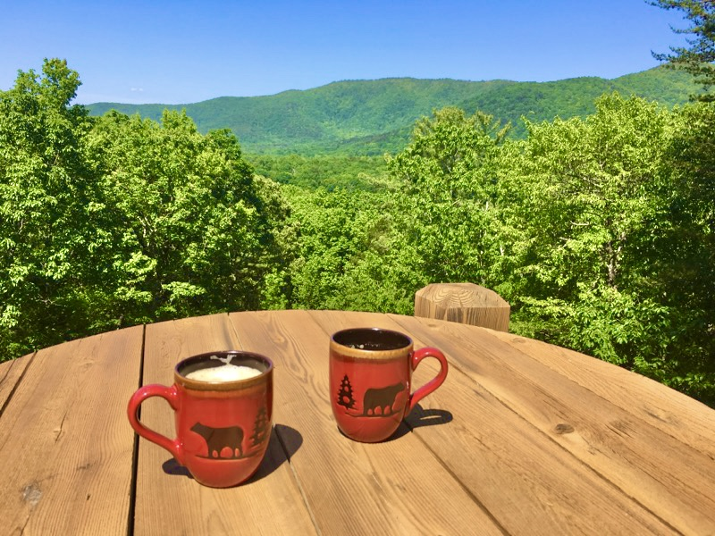 Enjoy Breathtaking Views with your morning Coffee