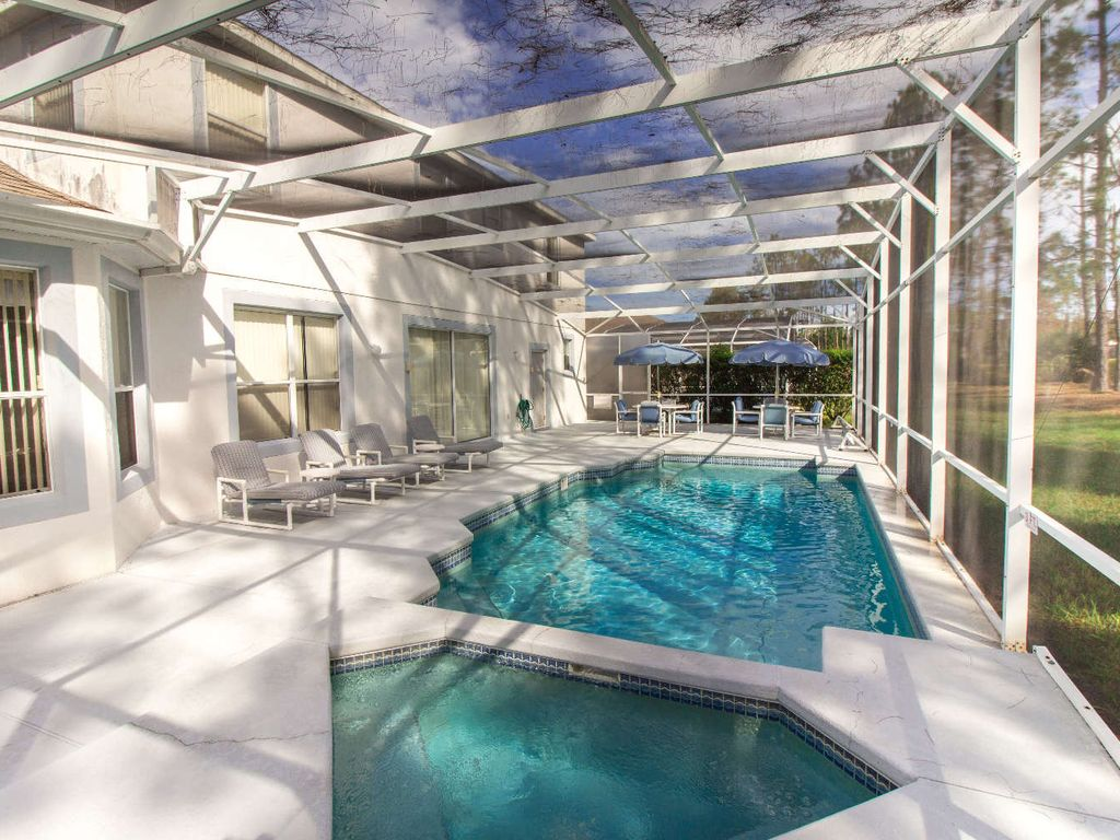 Huge Patio Deck and Pool
