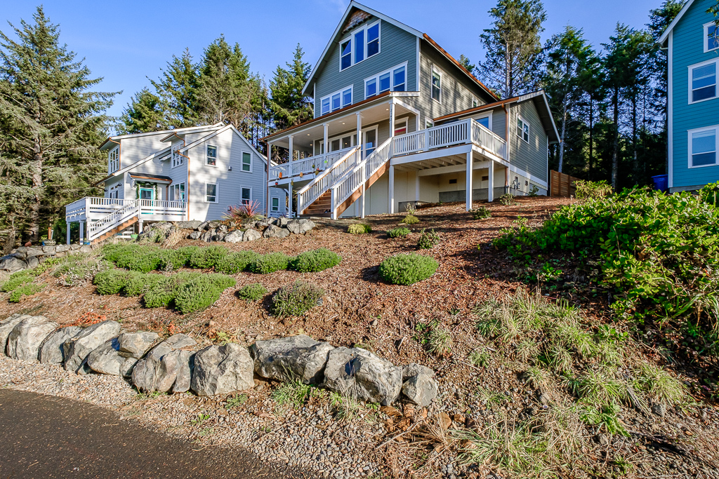 Come stay away from it all in this brand new beach home.