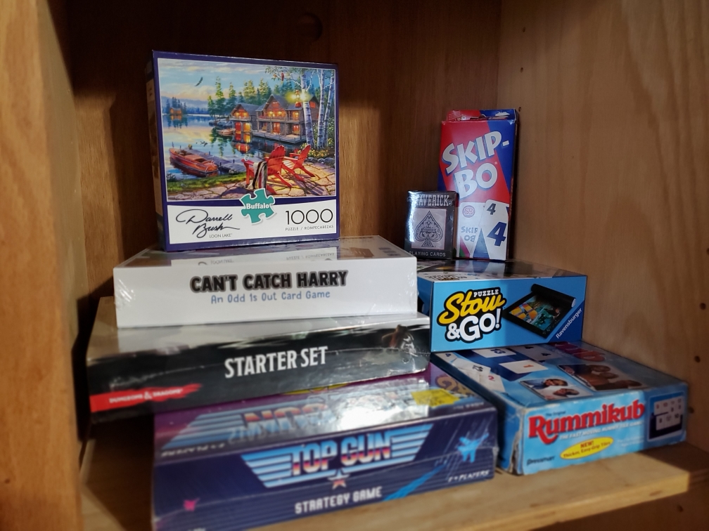 Plenty of Games to Keep you Busy!