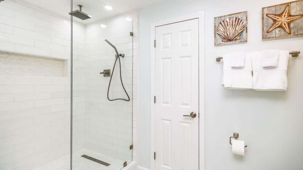 Custom Walk-in Shower