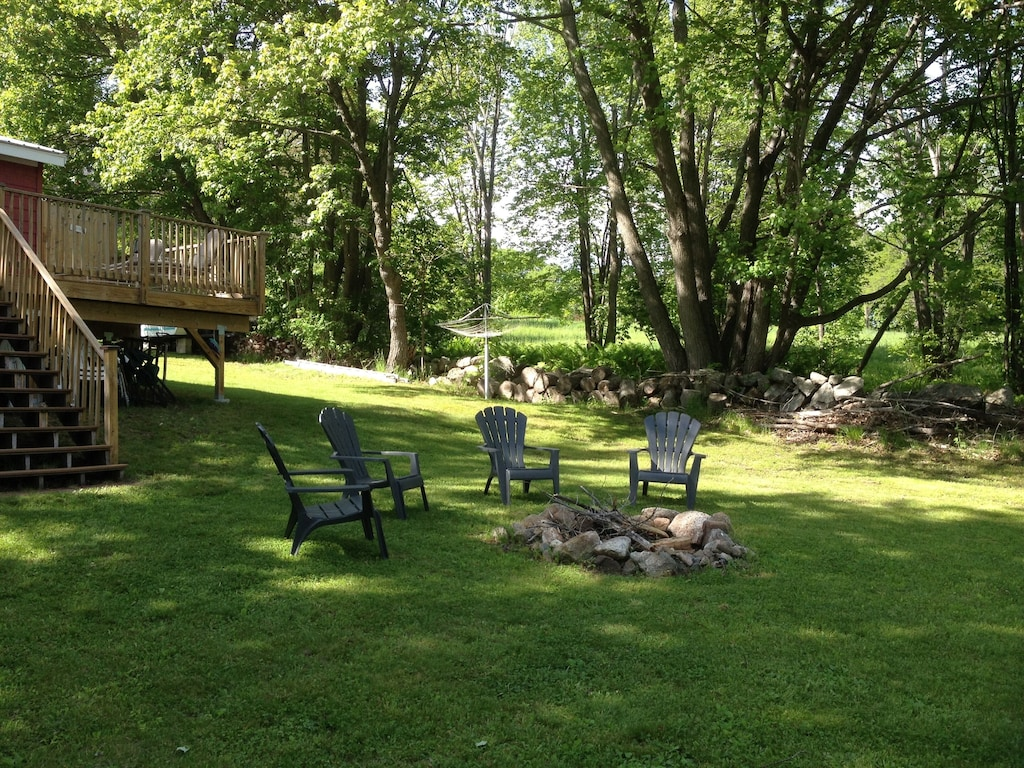Evening campfires - bring your s'mores and the guitar!