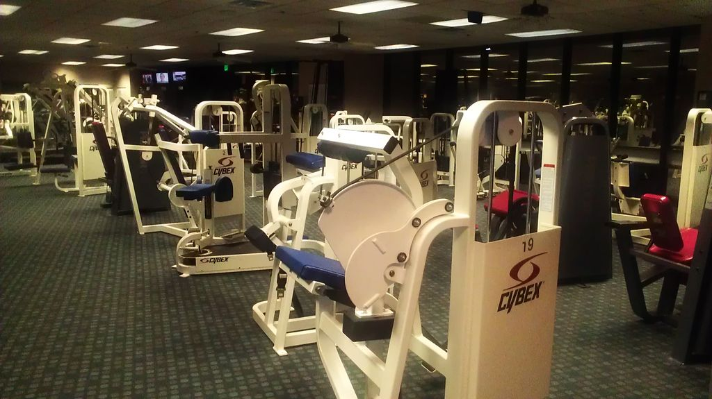 Fully equipped gym available for you to use