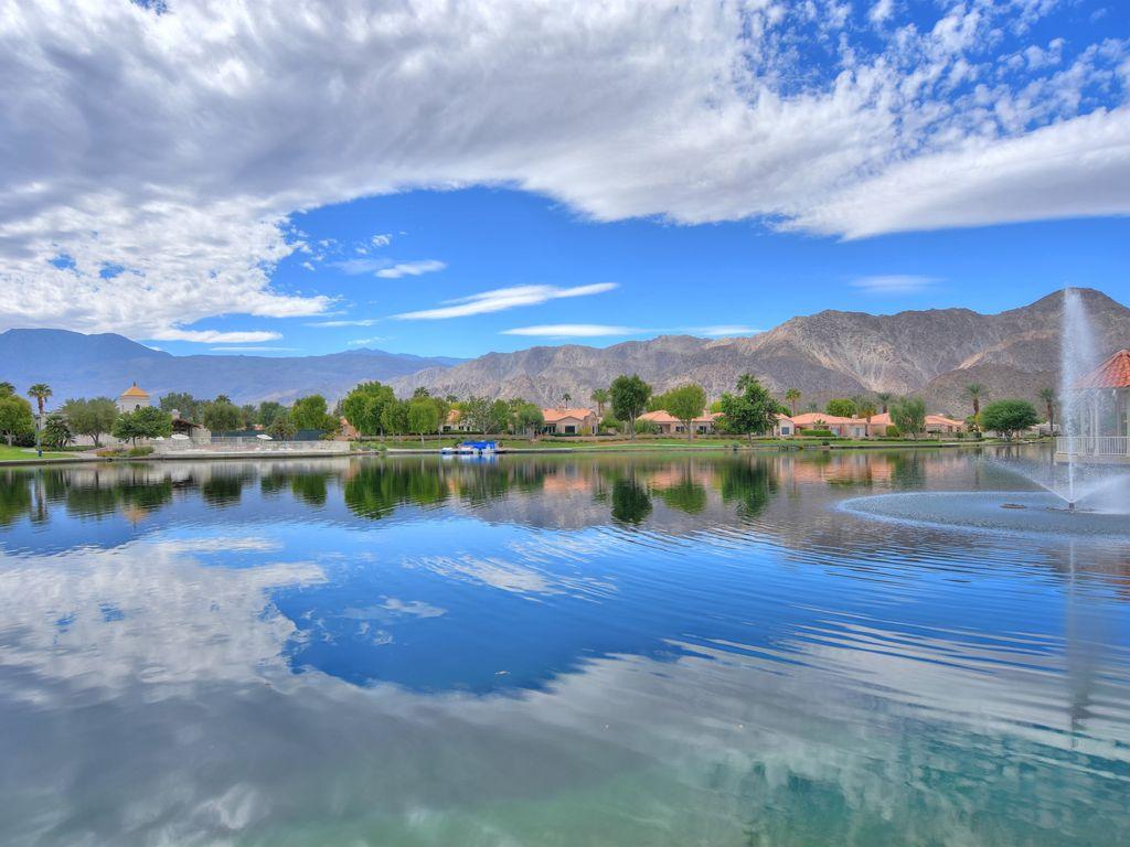 Laguna de la Paz Lake