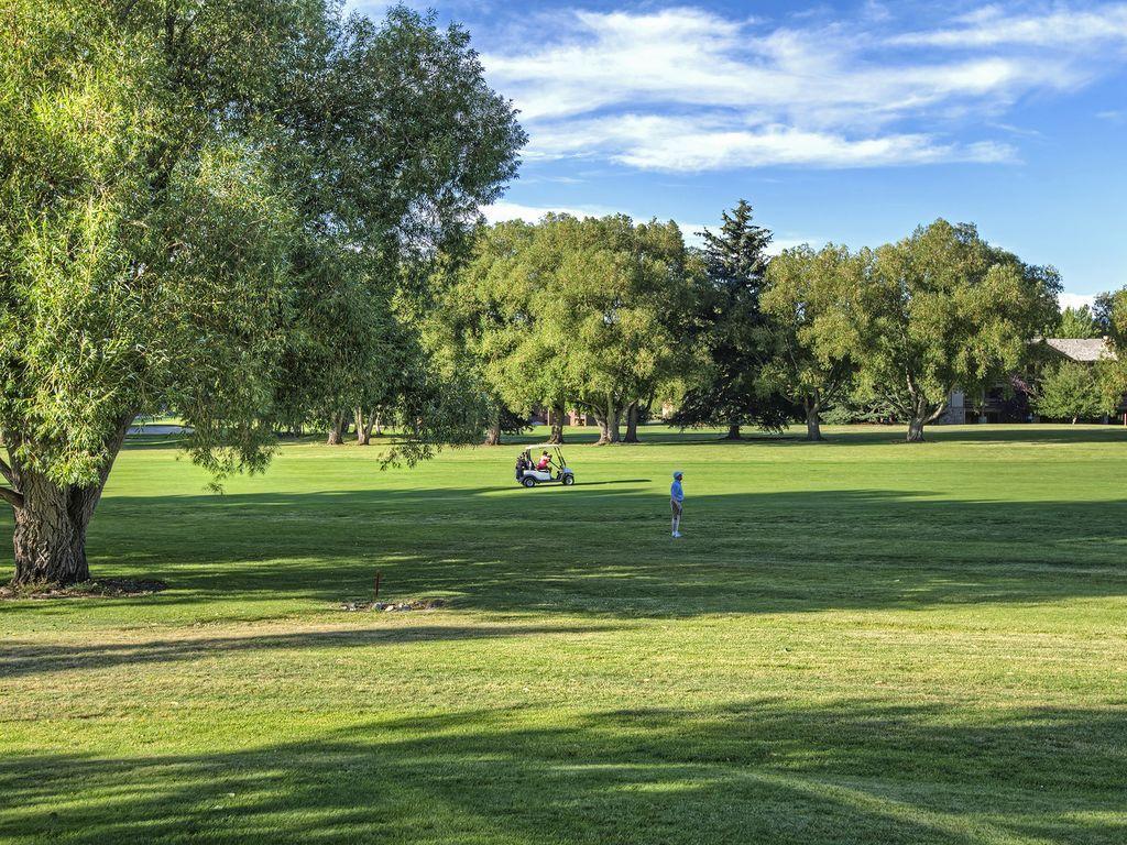 Park City Municipal golf course - 16th fairway